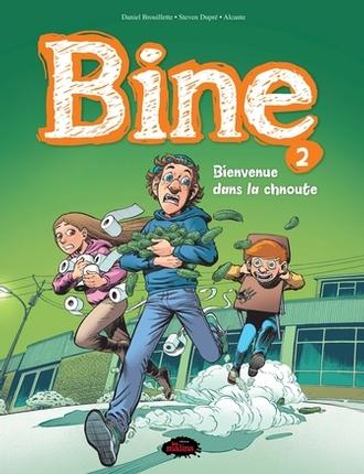 Bd Bine Tome 2 Bienvenue Dans La Chnoute Editions Les